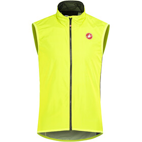 Castelli Pro Light Wind Vest Men yellow fluo